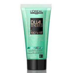 L'Oreal Professionnel Tecni.art Dual Stylers Liss & Pump-Up - Крем-гель объем для тонких волос 150 мл