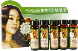 Welcos Confume Argan Treatment Hair Ampoule - Набор ампул для волос с аргановым маслом, 15мл*5