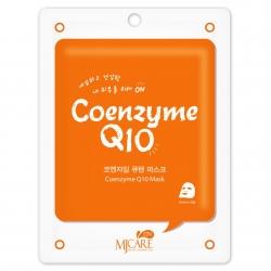 Mijin MJ Care Coenzyme Q10 Mask - Маска тканевая с коэнзимом, 22 г