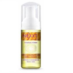 Nexxt Professional Mousse-Foam Spa-Lamination Brilliance - Мусс-пенка спа-ламинирование и блеск-люкс, 150 мл