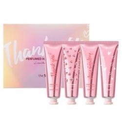 The Saem Perfumed Hand Special Set-Limited edition 1 - Набор кремов для рук, 4 шт.