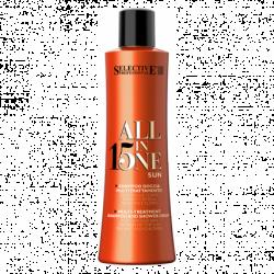Selective Professional All in One Sun - Шампунь-гель для душа для кожи и волос 250 мл