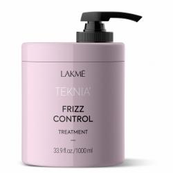 Lakme Teknia Frizz Control Treatment - Маска дисциплинирующая для непослушных или вьющихся волос, 1000 мл