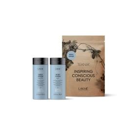 Lakme Teknia Body Maker Travel Pack - Набор дорожный для придания объема волосам (шампунь 100 мл, бальзам 100 мл)