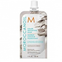 Moroccanoil Color Depositing Mask Platinum - Тонирующая маска (платина) 30 мл