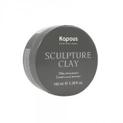 Kapous Professional Sculpture Clay - Глина для укладки волос нормальной фиксации 100 мл