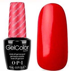 Opi GelColor Color So Hot It Berns, - Гель-лак для ногтей, 15мл