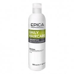 Epica Daily Care Shampoo - Шампунь для ежедневного ухода с маслом бабассу и экстрактом зеленого чая 300мл