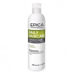 Epica Daily Care Conditioner - Кондиционер для ежедневного ухода с маслом бабассу и экстрактом зеленого чая 300мл