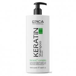 Epica Keratin Pro Shampoo - Шампунь для реконструкции и глубокого восстановления волос 1000мл