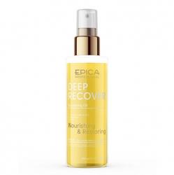 Epica Deep Recover Nourishing Oil - Масло для поврежденных волос с маслом зародышей пшеницы и арганы 100мл