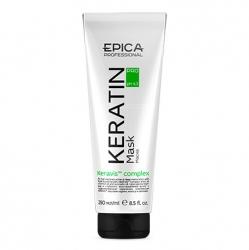 Epica Keratin Pro Mask - Маска для реконструкции и глубокого восстановления волос 250мл