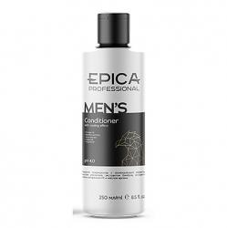 Epica Men'S Conditioner - Мужской кондиционер с охлаждающим эффектом, маслом апельсина и экстрактом бамбука 250мл