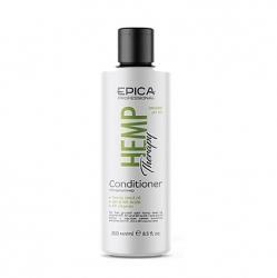 Epica Hemp Therapy Сonditioner - Кондиционер для роста с маслом семян конопли, AH и BH кислотами 250мл