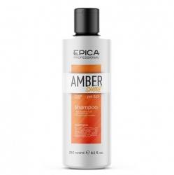 Epica Amber Shine Organic Shampoo - Шампунь для восстановления и питания волос с облепиховым маслом 250мл