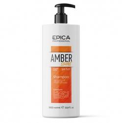 Epica Amber Shine Organic Shampoo - Шампунь для восстановления и питания волос с облепиховым маслом 1000мл