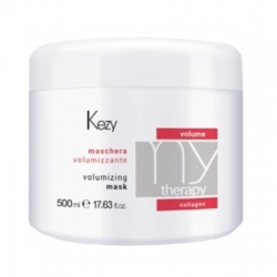 Kezy MyTherapy Volume Collagen Volumizing Mask - Маска для придания объема с морским коллагеном, 500мл