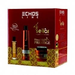 Echos Line Argan Kit Prestige - Подарочный набор, 350+500+100 мл