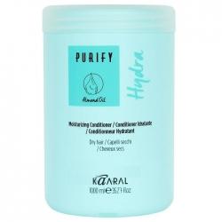 Kaaral Purify Hydra Conditioner - Увлажняющий кондиционер для сухих волос 1000 мл