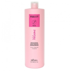 Kaaral Purify Volume Shampoo - Шампунь-объем для тонких волос 1000 мл