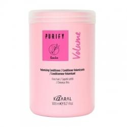 Kaaral Purify Volume Conditioner - Кондиционер-объем для тонких волос 1000 мл
