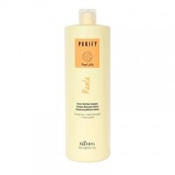 Kaaral Purify Reale Intense NutritionShampoo - Восстанавливающий Реале шампунь для поврежденных волос 1000 мл