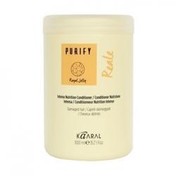 Kaaral Purify Reale Intense Conditioner - Интенсивный восстанавливающий Реале кондиционер для поврежденных волос 1000 мл