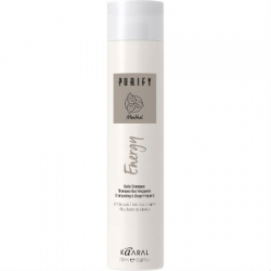 Kaaral Purify Energy Shampoo - Интенсивный энергетический шампунь с ментолом 250 мл