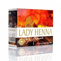 Lady Henna Краска для волос на основе хны «Каштановый» 6*10 гр