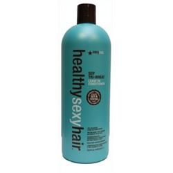 Healthy Sexy Hair Soy Tri - Wheat Leave-In Conditioner - Кондиционер несмываемый соевый 1000 мл