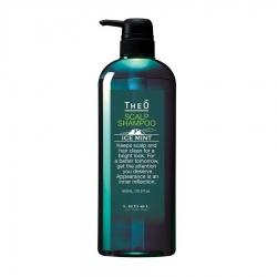 Lebel Theo Scalp Shampoo Ice Mint - Шампунь мужской многофункциональный Ледяная мята 600 мл