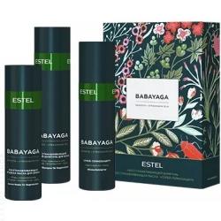 Estel BABAYAGA - Набор для волос (шампунь 250 мл, маска 200 мл, термозащитный спрей 200 мл)