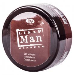 Lisap Milano Man Semi-Matte Wax - Воск матирующий для укладки волос, для мужчин, 100 мл