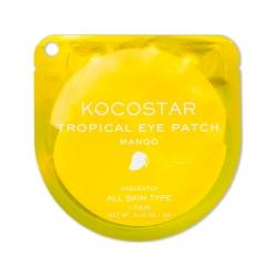 Kocostar Tropical Eye Patch (Mango) Single - Гидрогелевые патчи для глаз Тропические фрукты, Манго (2 патча/1 пара) 3г