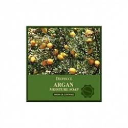 Deoproce Argan Moisture Soap - Мыло для лица с натуральным аргановым маслом, 100 г