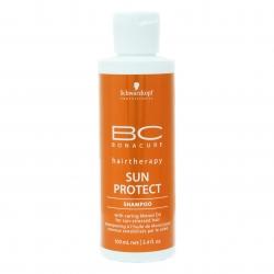 Schwarzkopf Professional Sun Protect Shampoo - Шампунь для волос, подвергшихся солнечному воздействию, 100 мл