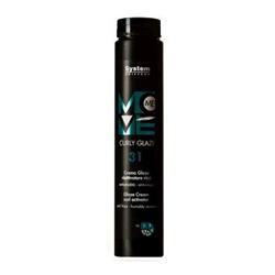 Dikson Move Me 31 Curly Glaze - Крем-глазурь для вьющихся волос 250 мл
