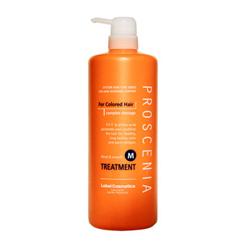 Lebel Proscenia Treatment M - Маска для окрашенных волос и волос после химического выпрямления 980 мл