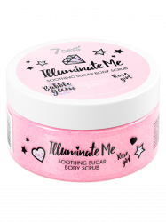7 Days Illuminate Me Rose Girl - Смягчающий сахарный скраб для тела, 200 г