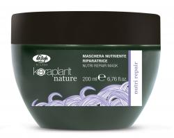 Lisap Milano Keraplant Nature Nutri Repair Mask - Маска питательная восстанавливающая для волос, 200мл