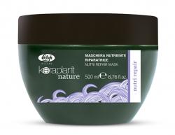 Lisap Milano Keraplant Nature Nutri Repair Mask - Маска питательная восстанавливающая для волос, 500мл