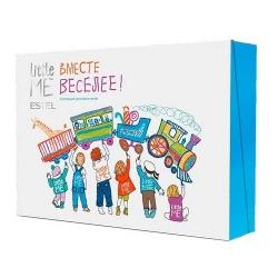 Estel Little Me Men Set - Коллекция для мальчиков (шамп, гель , пена , з/паста, бальз гиг., пузыри)