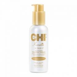 CHI Keratin Smoothing Treatment - Разглаживающая эмульсия для волос с кератином, 115 мл