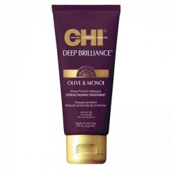 CHI Deep Brilliance Protein Masque - Протеиновая Маска Глубокий уход, 237 мл