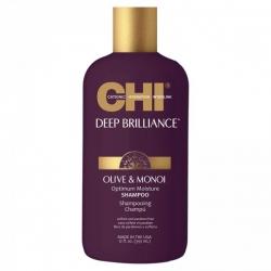 CHI Deep Brilliance Optimum Moisture Shampoo - Шампунь Оптимальное Увлажнение, 355мл