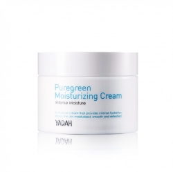 Yadah Pure Green Moisturizing Cream - Крем для лица увлажняющий, 50 мл