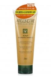 Welcos Around Me Professional Scalp Nourishing Shampoo - Шампунь для волос и кожи головы питательный, 230мл