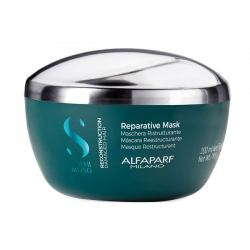 Alfaparf Milano Semi Di Lino Reconstruction Reparative Mask - Маска для поврежденных волос 200мл