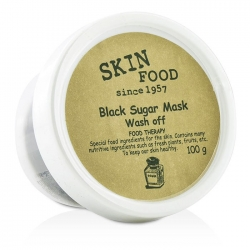 Skinfood Black Sugar Mask - Маска-скраб для лица сахарная, 100 г