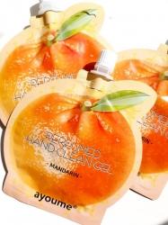 Ayoume  Perfumed hand clean gel [mandarin] -  Гель для рук с экстрактом мандарина, 20мл